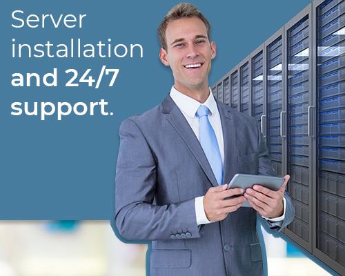 server installation it services