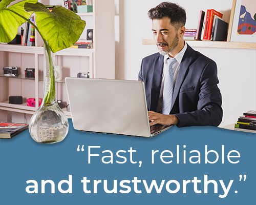 fast reliable and trustworthy it services